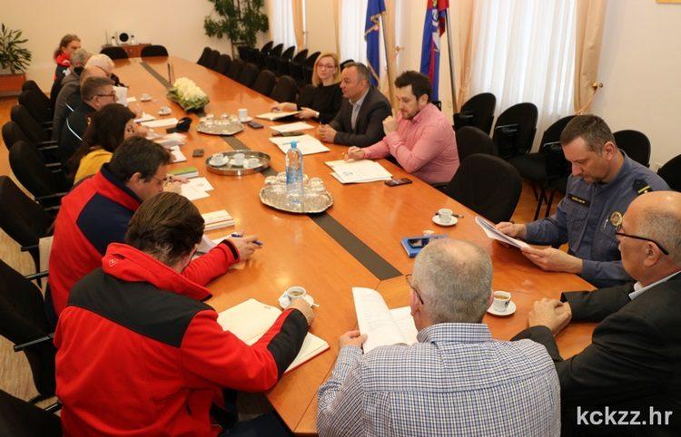 Na radnom sastanku s predstavnicima žurnih službi predstavljen elaborat vježbe potrage za nestalim osobama Šoderica 2019.