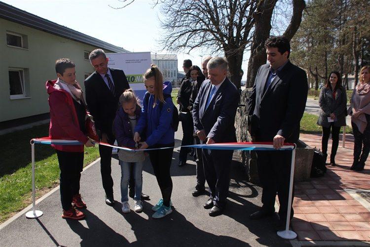 Župan na svečanom otvorenju novih biciklističkih staza u Križevcima