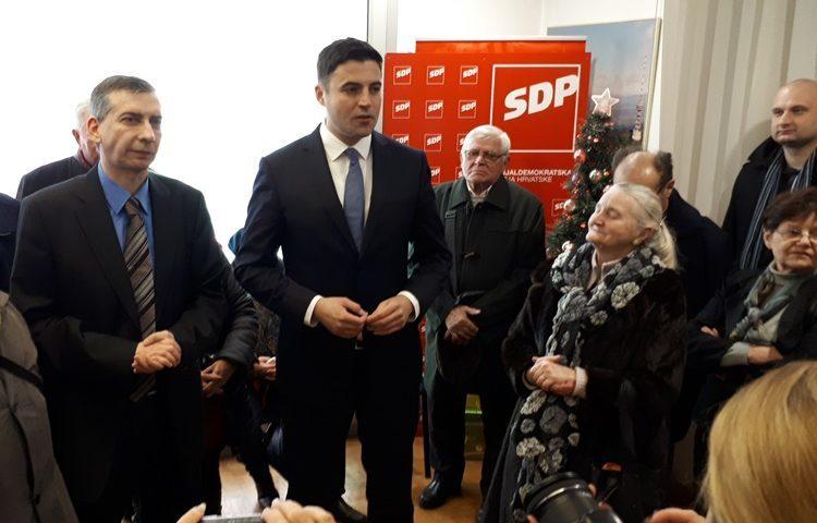Bero u Čakovcu : SDP ne odustaje od minimalne plaće u iznosu od 4.000 kuna