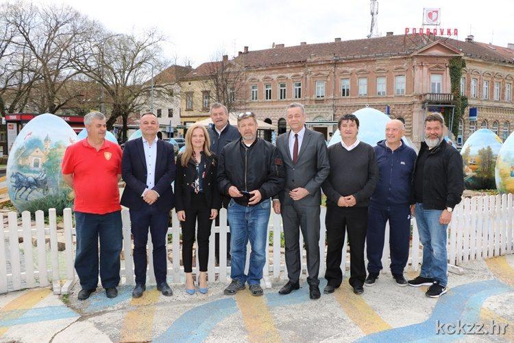 Građanima Koprivničko-križevačke županije maslinove grančice sa Šolte