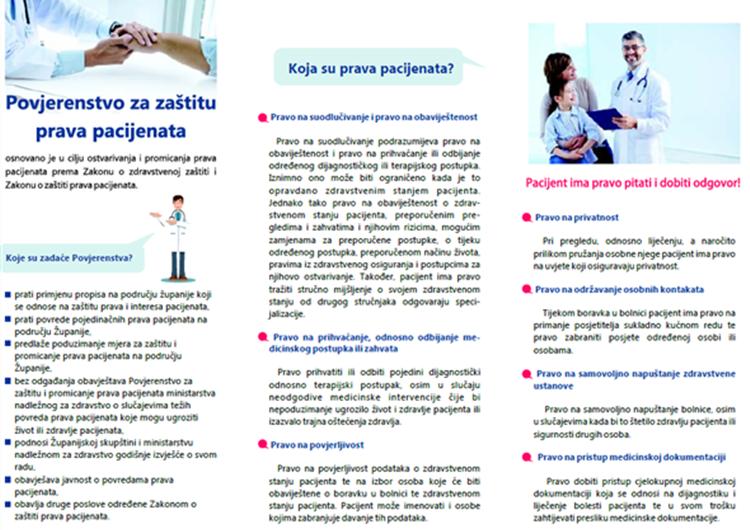 2. sjednica Povjerenstva za zaštitu prava pacijenata Krapinsko-zagorske županije