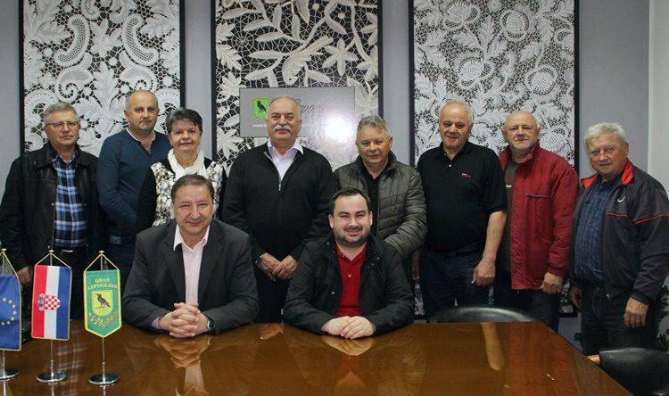 Gradonačelnik Škvarić s predsjednicima mjesnih odbora