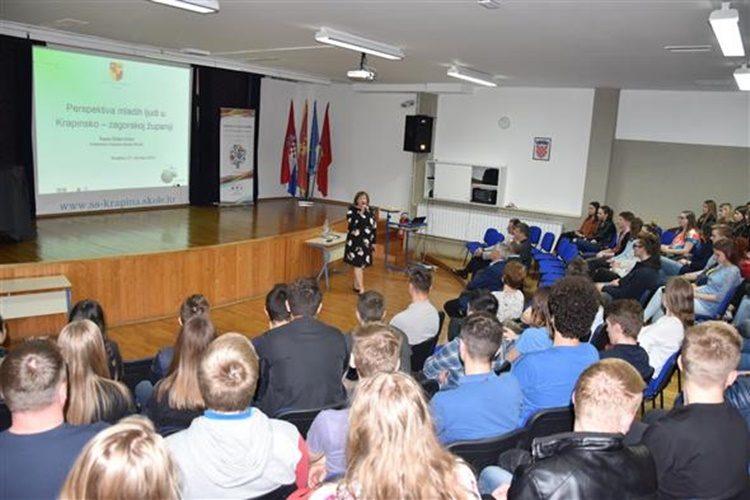 Završeni ovogodišnji susreti s maturantima Krapinsko-zagorske županije