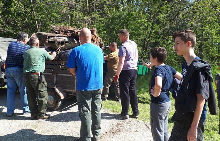 """Uključivanje u nacionalnu kampanju """"Zelena čistka 2019"""" Prelog"""