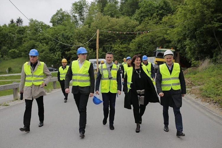 HDZ-ovi EU kandidati obišli početak radova na važnom projektu za razvoj turizma s obje strane granice