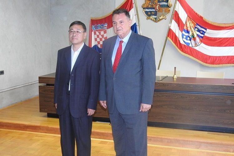 Varaždinsku županiju posjetila delegacija Stalnog odbora Narodnog kongresa Grada Hangzhou iz provincije Zheijang