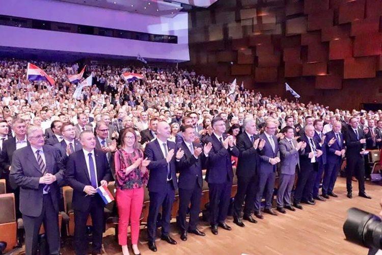 30. obljetnica osnutka HDZ-a, Stričak: Doprinos boljitku hrvatskog naroda