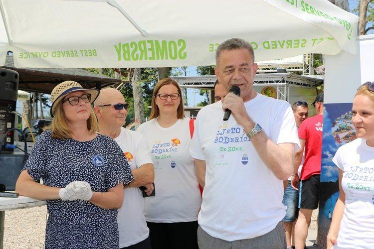 "Župan Koren svečano otvorio peto izdanje manifestacije ""Ljeto na Šoderici"""
