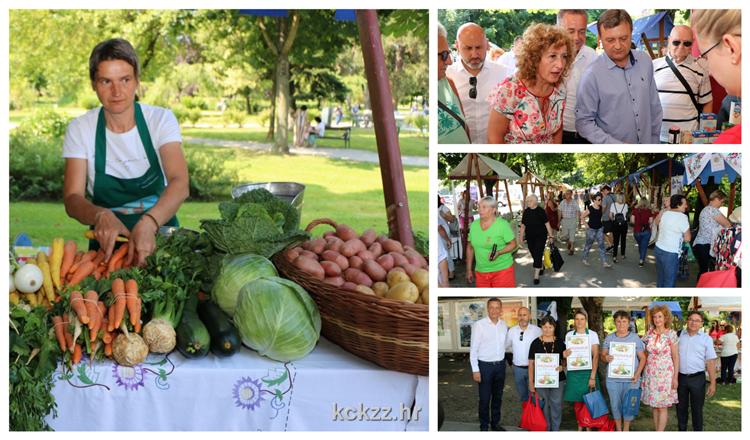 Brojni izlagači domaćim proizvodima oduševili posjetitelje na 15. Danu povrća Koprivničko-križevačke županije