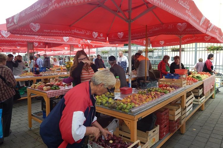Od danas otvorena tržnica u Prelogu