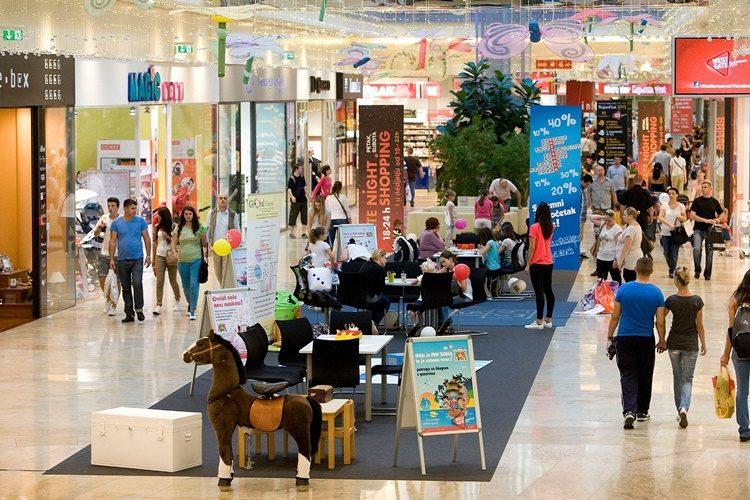 U našem najvećem trgovačkom centru otvorena dječja trgovina na dva kata