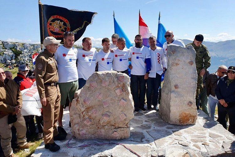 "Otkriven ""Spomenik Domovini"" na Dinari, Stričak: Podsjetnik i inspiracija"
