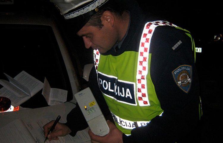 BURAN VIKEND Alkoholni rekorder vozio s gotovo 3 promila, dvojica pijanih vozača uhićena