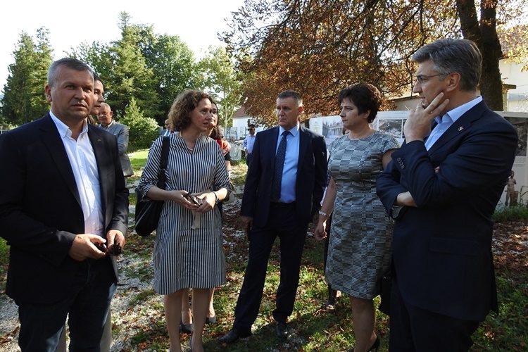 """Premijer Plenković u Varaždinskim Toplicama: """"Sjajno je da na ovaj način koristimo europska sredstva"""""""
