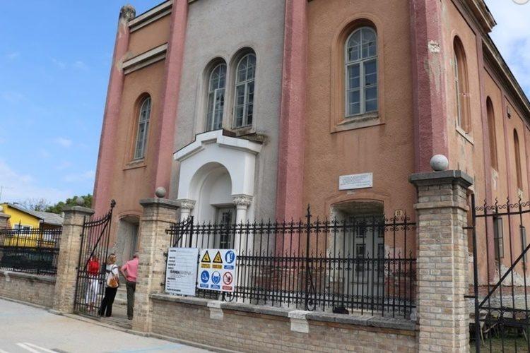 I koprivnički gradonačelnik provjerio kako napreduju radovi u Sinagogi