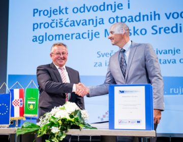 EUROPSKI MILIJUNI PONOVO STIŽU U MEĐIMURJE – Počinje izgradnja sustava odvodnje aglomeracije Mursko Središće – projekt vrijedan 165 milijuna kuna