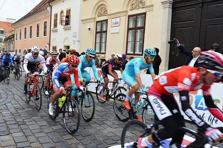 Završetak Međunarodne biciklističke utrke Cro Race 2019. u Zagrebu