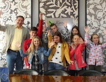 Povodom Dječjeg tjedna, lepoglavski gradonačelnik Škvarić susreo se s predstavnicima učenika osnovnih škola
