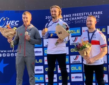 NOVI USPJEH MLADOG VARAŽDINCA Ranteš srebrni na Europskom BMX prvenstvu