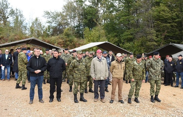 "Stričak: Vojna vježba ""UDAR19"" pokazala je zavidnu spremnosti i pripremljenost pripadnika Hrvatske vojske"