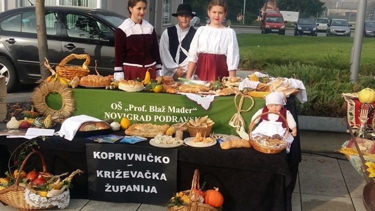 Školarci iz Novigrada Podravskog predstavljali Koprivničko-križevačku županiju na državnoj smotri Dani kruha – Dani zahvalnosti za plodove zemlje
