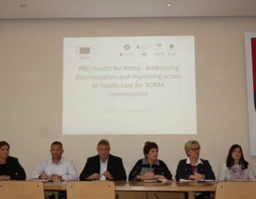 U Međimurskoj županiji održana početna konferencija projekta PRO HEALTH for Roma
