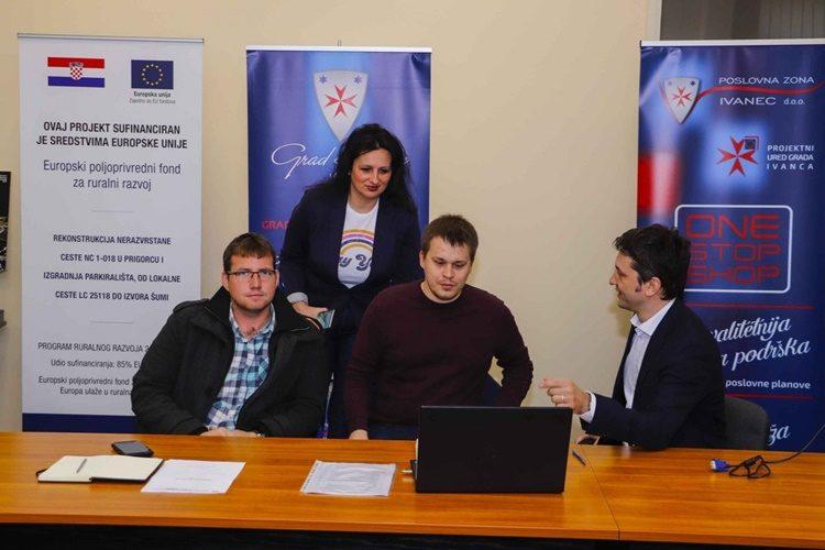 Poslovna zona Ivanec uspješno završila EU projekt vrijedan 523.000 kuna