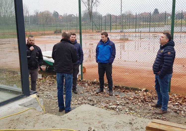 ĐURĐEVAC: U tijeku radovi na izgradnji nove zgrade teniskog kluba