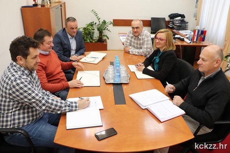 Održan sastanak s predstavnicima Službe civilne zaštite Koprivnica i županijskim vatrogasnim zapovjednikom