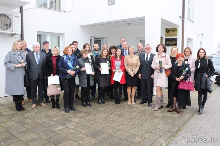 Županijska Obrtnička komora podravsko-prigorskim obrtnicima dodijelila priznanja i uvjerenja