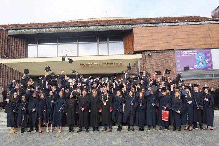 Promovirano 175 prvostupnika i specijalista Međimurskog veleučilišta