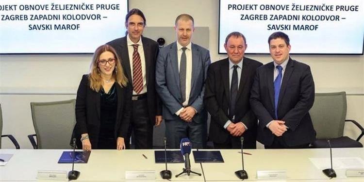 Potpisan ugovor za obnovu pruge Zapadni kolodvor – Savski Marof