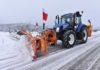 Vozila i uređaji iz podravske tvrtke čiste ličke ceste u surovim zimskim uvjetima
