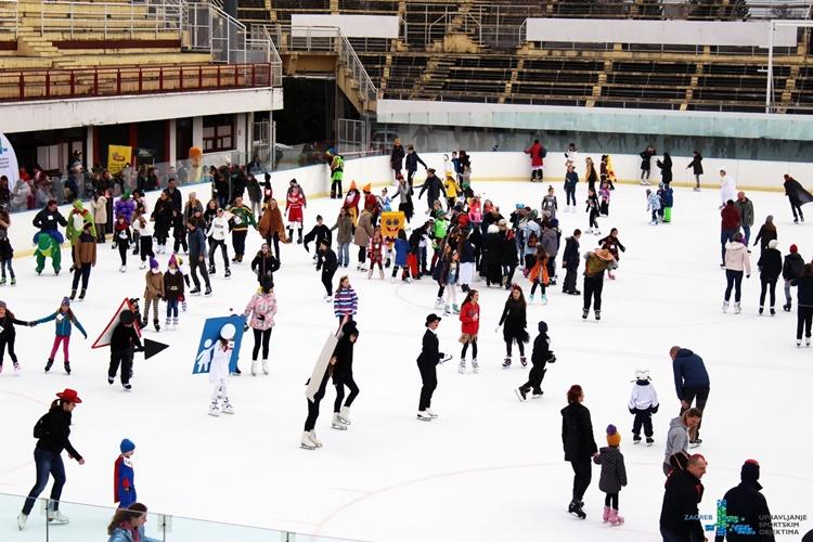 ZAGREB Maskenbal na ledu okupio više od 300 maškara