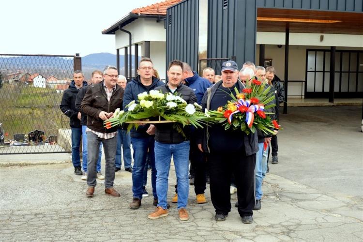 UDVDR IVANEC Komemorativni skup sjećanja na preminulog tajnika Davora Bregovića te Borisa Ribića