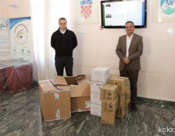 VRIJEDNA DONACIJA Podravka SCZ Koprivničko-križevačke županije donirala 17 tisuća komada zaštitne medicinske opreme