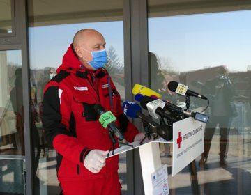 Čelnici Crvenog križa i MUP-a obišli Krapinu kako bi pružili podršku volonterima