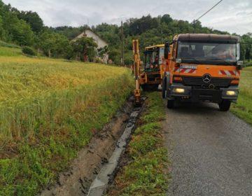 BEDEKOVČINA: Radovi na redovitom održavanju komunalne infrastrukture