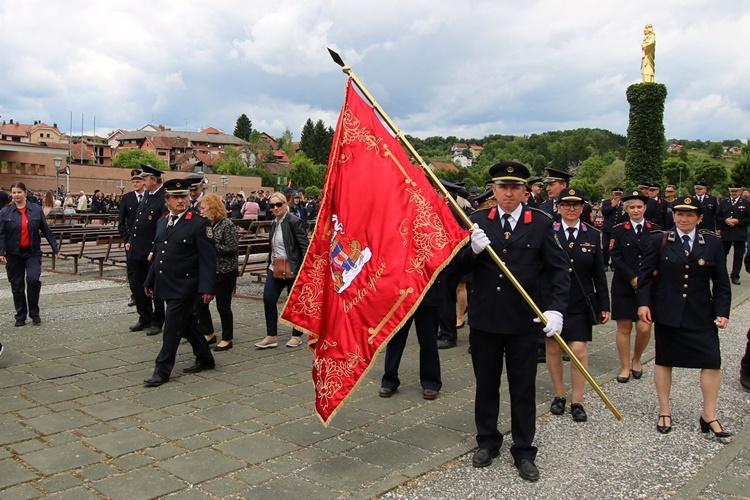 Vatrogasci iz Koprivničko-križevačke županije sudjelovali na 21. hodočašću vatrogasaca u Svetište Majke Božje Bistričke