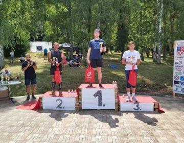 AK Varaždin: Zoran i Dinko 3. na Moslavina trailu, a Simona 4. na 3000 m