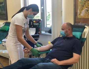Župan Kolar podržao akciju darivanja krvi GDCK Krapina