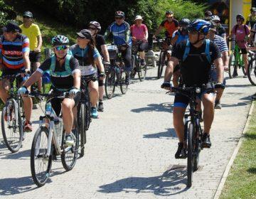 Već deveti put organizirana Toplička biciklijada