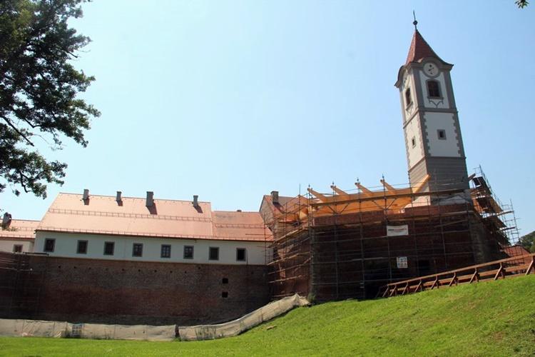 Stari grad Čakovec poprima svoje novo ruho – replika barokne zgrade pred završetkom
