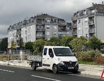 Počela izgradnja novih uzdignutih ploha u Zaprešiću