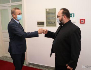 """Prijem za novoimenovanog biskupa Križevačke eparhije mons. Stipića. Župan Koren: """"Dobili ste veliko povjerenje i siguran sam kako ćete ambicije pretvoriti u projekte"""""""