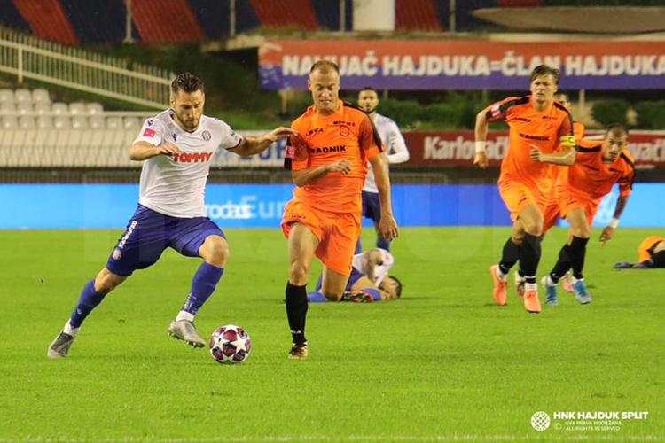 POTOP U SPLITU Varaždin se kući vraća bez bodova, utakmica završila u gotovo nemogućim uvjetima