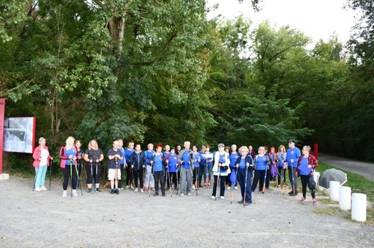 Nordijski hodači u Varaždinu obilježili Međunarodni dan rijeke Drave