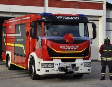 Grad Novi Marof kupio i predao novo vatrogasno vozilo vrijedno više od 1,5 milijuna kuna