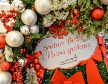 Stiglo je najljepše doba godine – Advent u Trgovačkom centru Lumini u punom je jeku