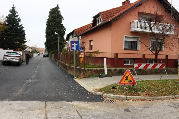 Uređena još jedna varaždinska ulica – u novom ruhu Ulica Ive Vojnovića